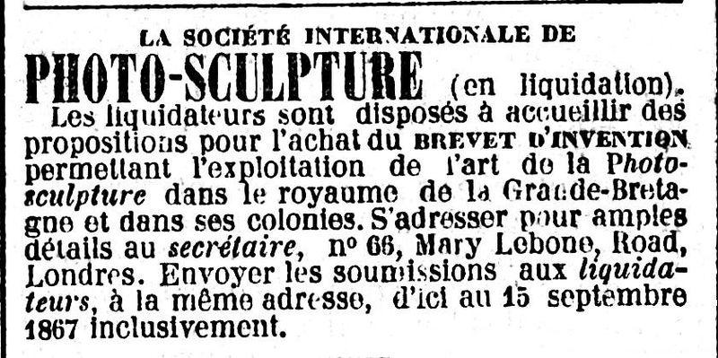 File:Société internationale de photo-sculpture - Le Temps - 21 août 1867 - page 4 - 3ème colonne.jpg