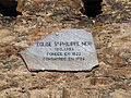Sorio plaque sur l'église San Filippu.jpg