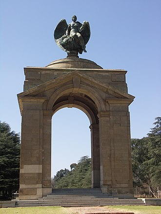 South African National Museum of Military History - The Anglo-Boer War Memorial