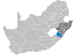 South Africa Districts showing Sisonke.png