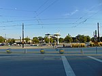 South across Lehman Ave at West Valley Central station, Aug 16.jpg