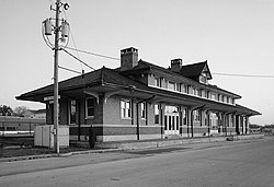 Southern Railway Depot, 1905 Alabama Avenue, Bessemer (Jefferson County, Alabama).jpg