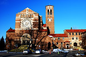 Duns Scotus College - The former Duns Scotus College, once a Franciscan monastery in Southfield, is now the non-demoninational Word of Faith.