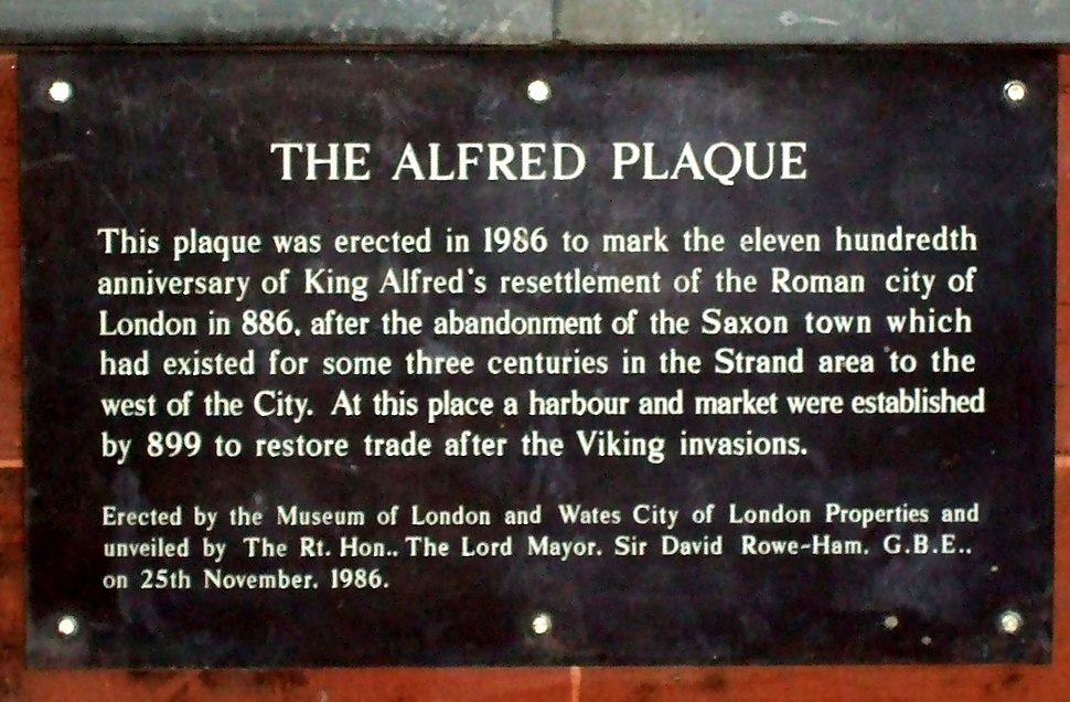 Southwark Bridge City Plaque