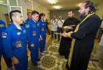 Soyuz TMA-05M crew blessing.jpg