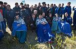 Soyuz TMA-07M crew shortly after landing.jpg