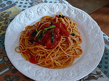 Italian cuisine simple english wikipedia the free for Cuisine wikipedia