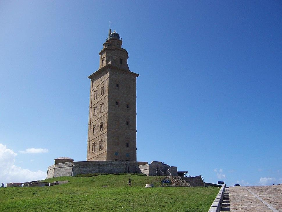 Spain LaCoruna tower
