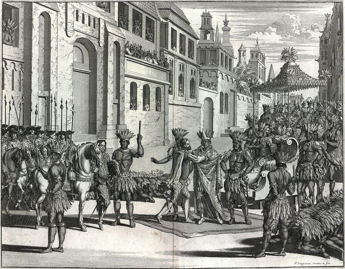 Hiszpański podbój Ameryki – Wikipedia, wolna encyklopedia