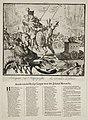 Spotprent op de gezamenlijke strijd van de Heilige Liga van Lodewijk XIV en Jacobus II, 1689. NL-HlmNHA 53009127.JPG