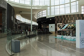 Square One Shopping Centre - Square One Shopping Centre, Mississauga. Entrance lobby.