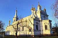 Ss Boris and Gleb Cathedral, Daugavpils.jpg