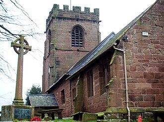 Shotwick - Image: St. Michael's church, Shotwick geograph.org.uk 649501