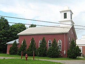 Bakersfield, Vermont - Bakersfield Historical Society (formerly St. George's Catholic Church)