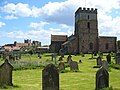 St Aidan's church and Bamburgh Castle - geograph.org.uk - 382862.jpg