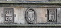 St Andrews - King James Library - coats of arms on the facade 01.JPG