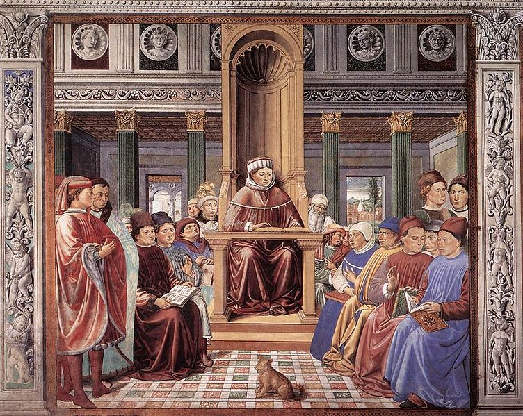 File:St Augustine Teaching in Rome.jpg