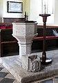 St Bridget, St Bride's Major, Glamorgan, Wales - Font - geograph.org.uk - 544551.jpg