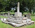 St Bridgets Llansantfraedd Churchyard cross - cropped.jpg