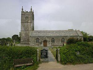 St Endellion - St Endellion church