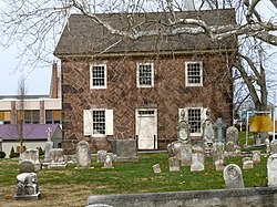 Old St. Gabriel's Episcopal Church, founded in 1720; this building was built in 1801