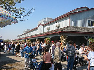 Woolwich, Ontario - The St. Jacobs Market is a major tourist attraction
