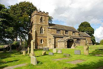 Altham, Lancashire - Image: St James' Church, Altham