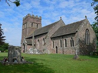 Wellington, Herefordshire - St Margaret of Antioch church
