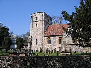 Fawley, Buckinghamshire - Image: St Mary's, Fawley