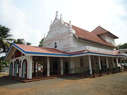 St Mary's Church Angamaly; the first church built in Angamaly in AD 409