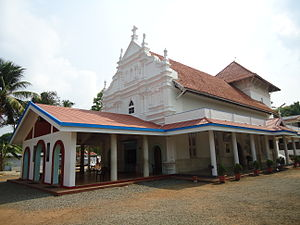 Angamaly - St Mary's Church Angamaly; the first church built in Angamaly in AD 409