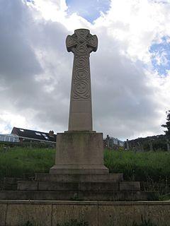 Helsby War Memorial war memorial in Helsby, Cheshire, England