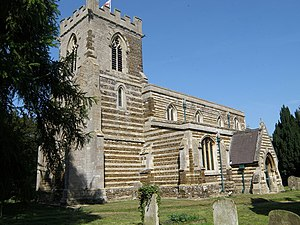 Tempsford - Image: St Peters, Tempsford geograph.org.uk 1277329