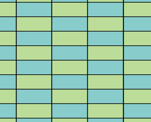 Tiling with rectangles - Image: Stacked bond