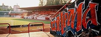 Karađorđe Stadium - Image: Stadion vojvodine 02