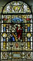 Stained glass window, St Mary's church, Glynde (15564308698).jpg