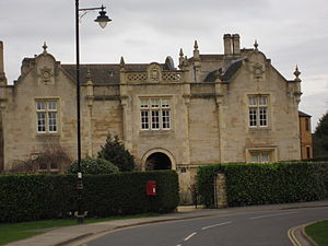 Stamford East railway station - Image: Stamford East station frontage geograph.org.uk 2316593