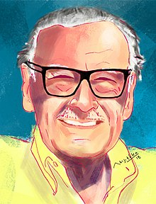 Stan Lee painting by abijith ka 3.jpg