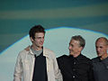 Star Wars Celebration II - Hayden Christensen, Anthony Daniels, and Nick Gillard (4878241785).jpg