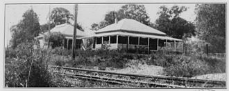 Cressbrook Homestead - Witton House, in the grounds of Tighnabruaich, a residence in Indooroopilly, circa 1932