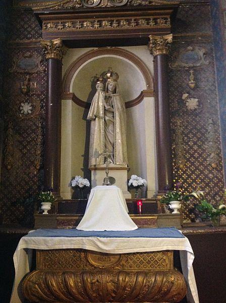 Provenant de l'ancien couvent de La Guiche