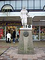 Statue of Amy Johnson, Prospect Street, Hull - geograph.org.uk - 624737.jpg