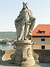 Statue of Pepin the Short - Alte Mainbrücke, Würzburg - DSC02939.JPG
