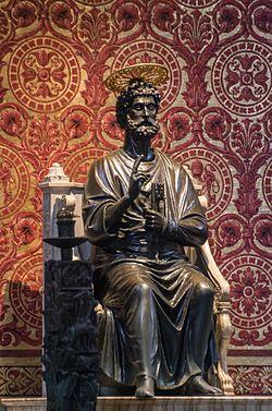 Szent Péter a trónon (Arnolfo di Cambio szobra)