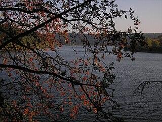 Lake Bütgenbach lake