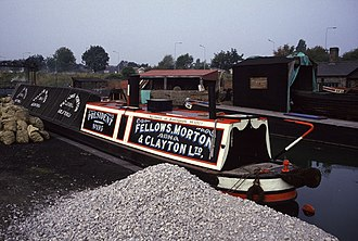 Fellows Morton and Clayton - Image: Steam narrowboat President geograph.org.uk 679005