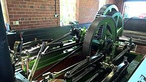 Balloch Steam Slipway - The steam engine