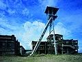 Steenkoolmijn van Waterschei, gerestaureerde schachtbok met ontvangstgebouw - 373657 - onroerenderfgoed.jpg
