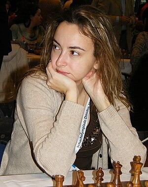 Deutsch: Antoaneta Stefanowa bei der 38. Schac...
