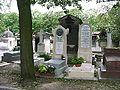 Stendhal grave on cimetiere de montmartre paris 01.JPG